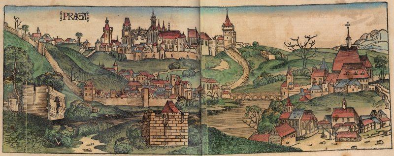 Ilustrácia: Budín v 15. storočí